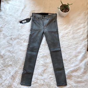 Rag & Bone High Rise Ankle Skinny Size 24